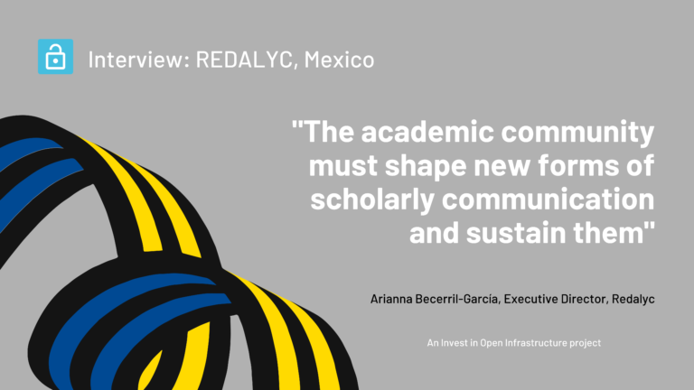 An interview with Arianna Becerril-García, Executive Director, Redalyc