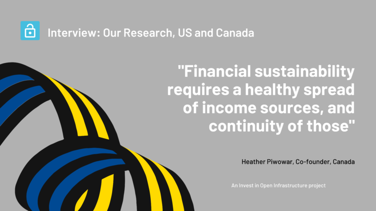 An interview with Heather Piwowar, Co-founder, Open Research, Canada